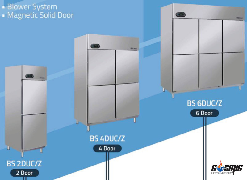 Các dòng sản phẩm tủ đông của Berjaya sở hữu hệ thống làm lạnh hiện đại và toàn diện nhất
