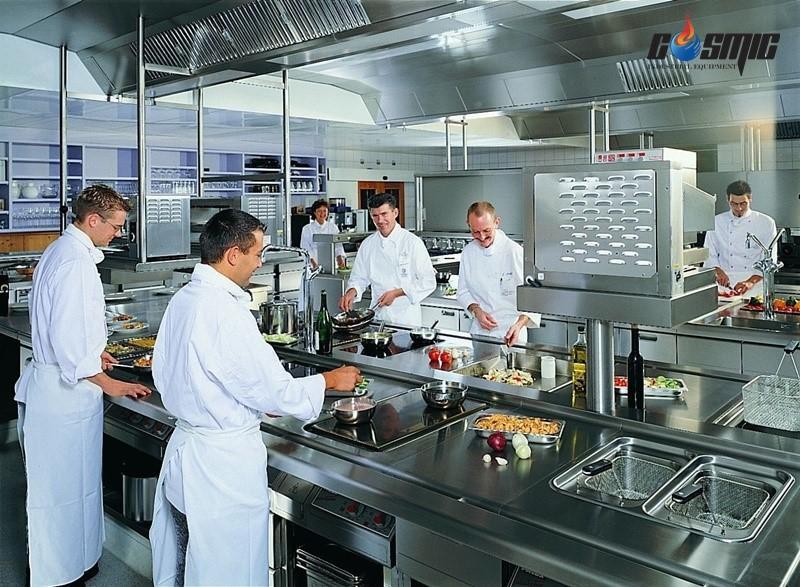 Cần lưu ý về vị trí đặt, bảo quản máy cũng như vệ sinh máy trong các không gian bếp nhất là tại các nhà hàng khách sạn