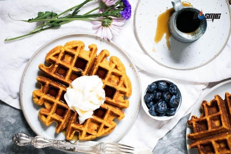 Để tạo nên bánh waffle hấp dẫn bạn nên tìm hiểu cách dùng máy nướng