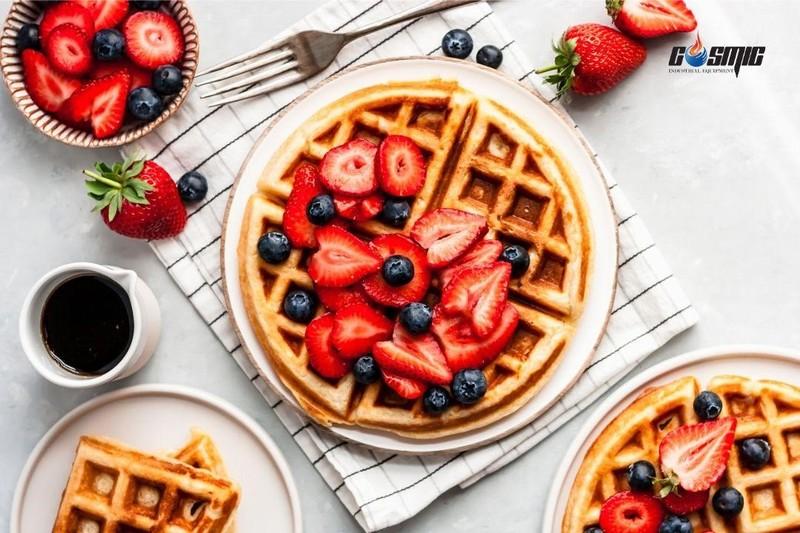 Để tạo ra những mẻ bánh waffle đồng đều, bạn cần đến sự trợ giúp của máy làm bánh waffle chuyên dụng