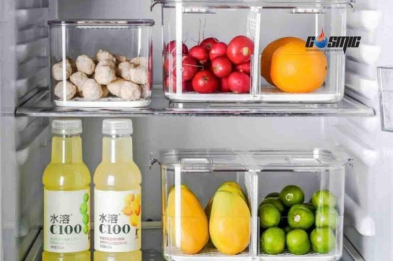 Khoang chứa đa năng cho phép người dùng lưu trữ thực phẩm dưới nhiều hình thức (hộp, chai, túi…)