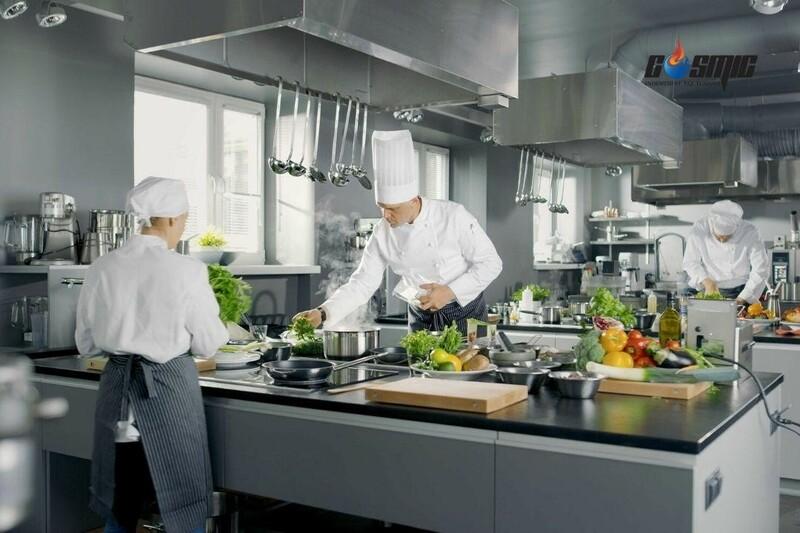 Lassele nổi tiếng với các thiết bị lạnh trong các gian bếp công nghiệp