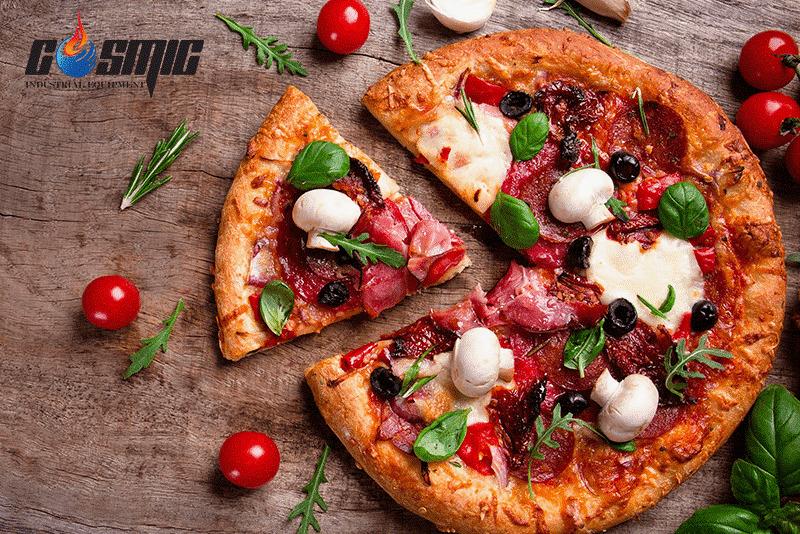Lò nướng pizza chuyên nghiệp giúp giữ vẹn hương vị bánh nguyên bản