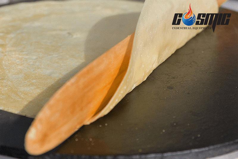 Máy làm bánh crepe Libermann giúp bánh chín đều và thơm ngon hơn