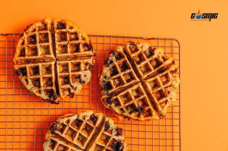 Máy làm bánh waffle dạng tròn FY-1 giúp bạn tiết kiệm thời gian khi làm bánh