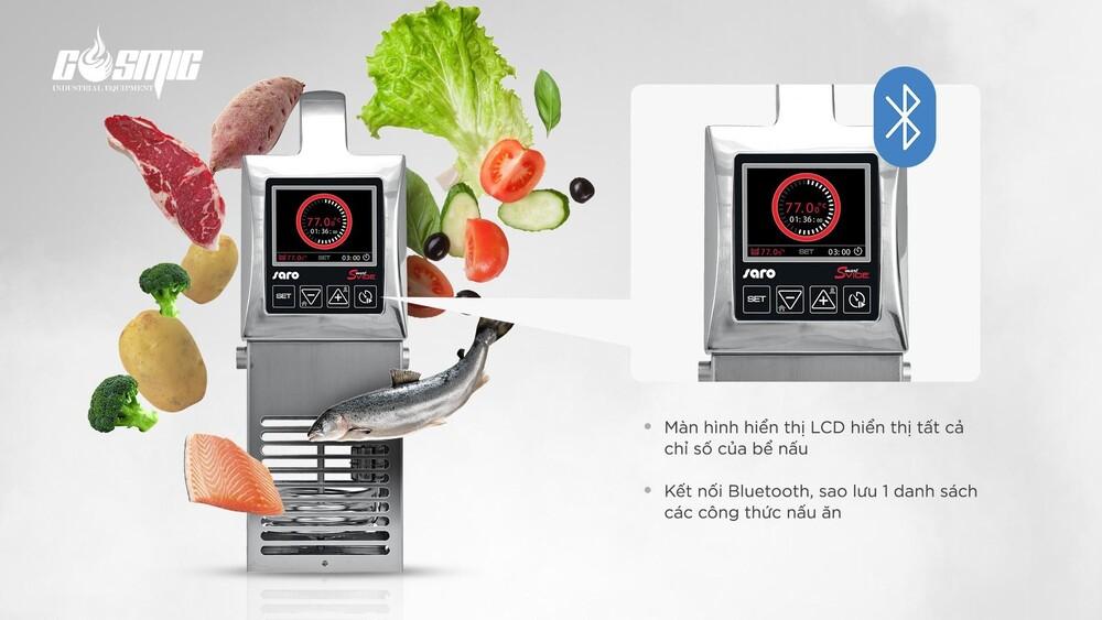 Máy nấu chậm SmartVide Sammic