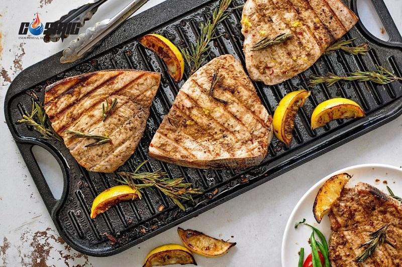 Máy nướng kẹp Panini R còn có thể sử dụng cho các món ăn khác