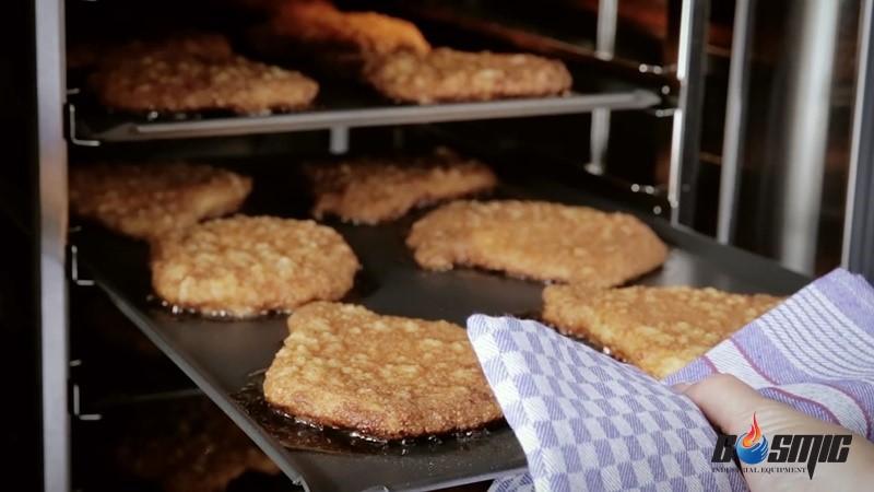 Món ăn được chế biến qua lò nướng đa năng Convotherm