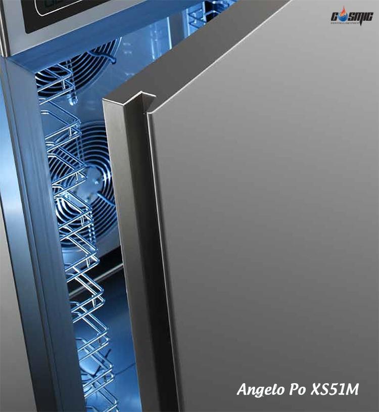 Tủ cấp đông nhanh Angelo Po XS51M có nhiều khay đông tối đa hiệu suất