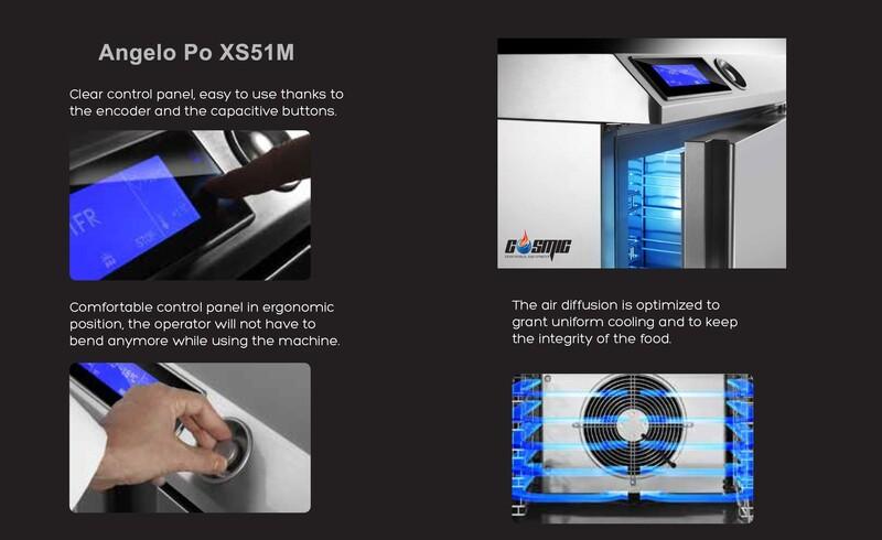XS51M là một trong những model tủ cấp đông nhanh được ưa chuộng nhất đến từ thương hiệu Angelo Po