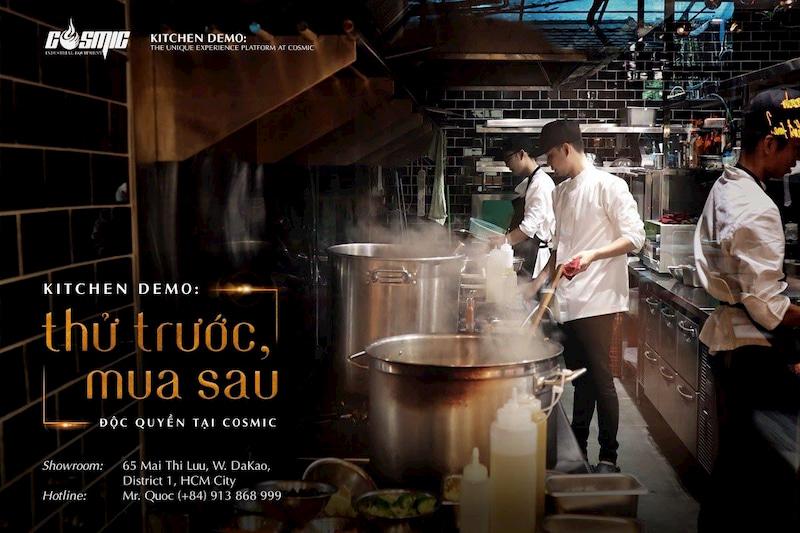khach-hang-co-the-trai-nghiem-dung-thu-san-pham-tai-kitchen-demo-va-nhan-tu-van-tu-cac-chuyen-gia-cua-cosmic