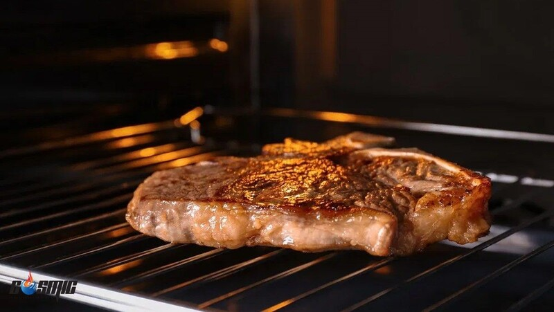 Sản phẩm lò nướng đối lưu mang lại hiệu quả nướng cực cao, giúp món ăn chín đều hơn và nương nhanh hơn